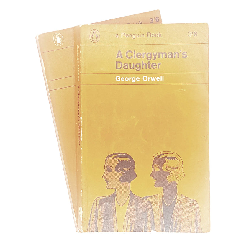 First Edition George Orwell Collection A Clergyman's Daughter and Coming Up For Air 1962 - 1964