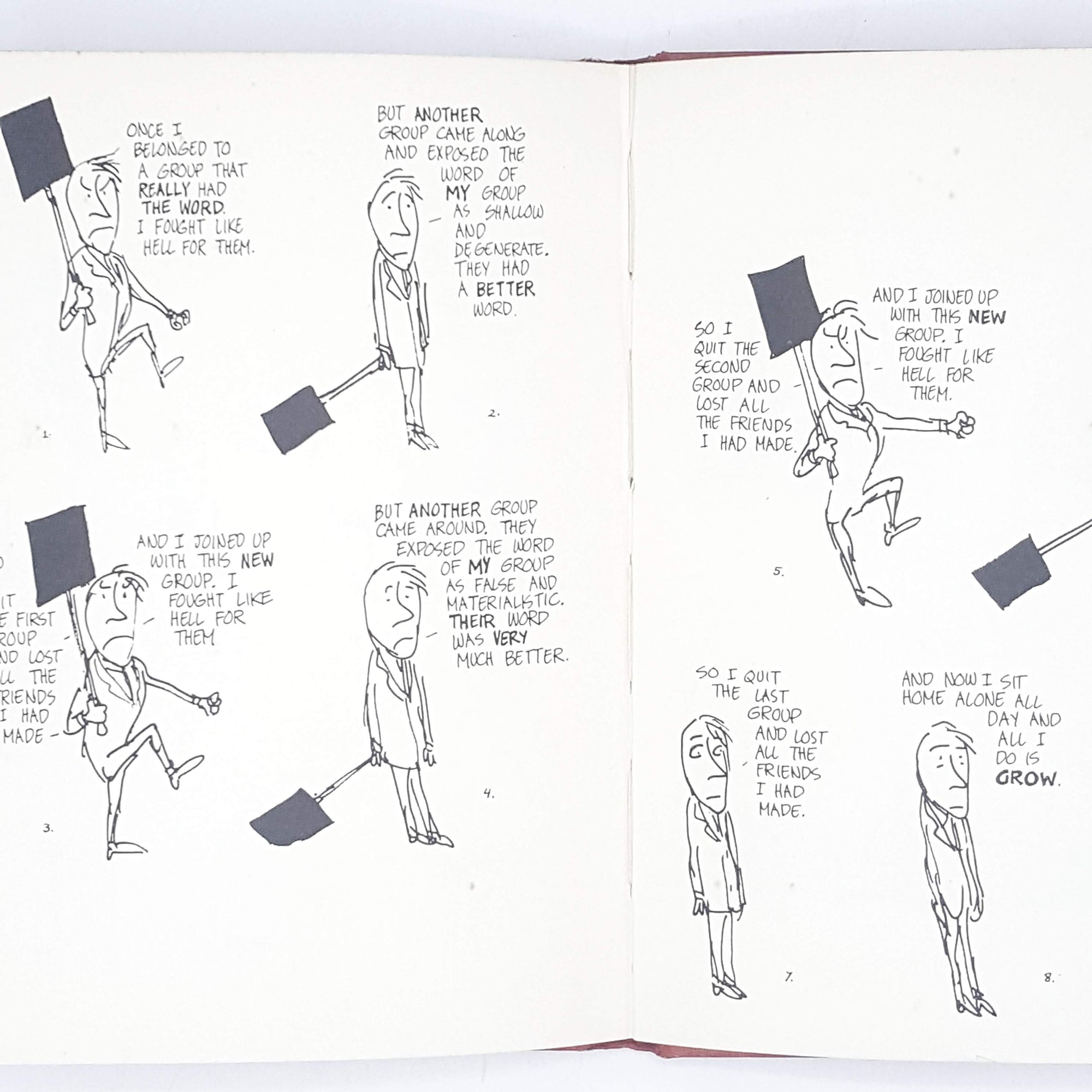 Sick Sick Sick by Jules Feiffer 1960