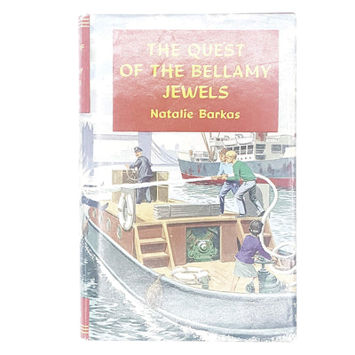 The Quest of the Bellamy Jewels by Natalie Barkas