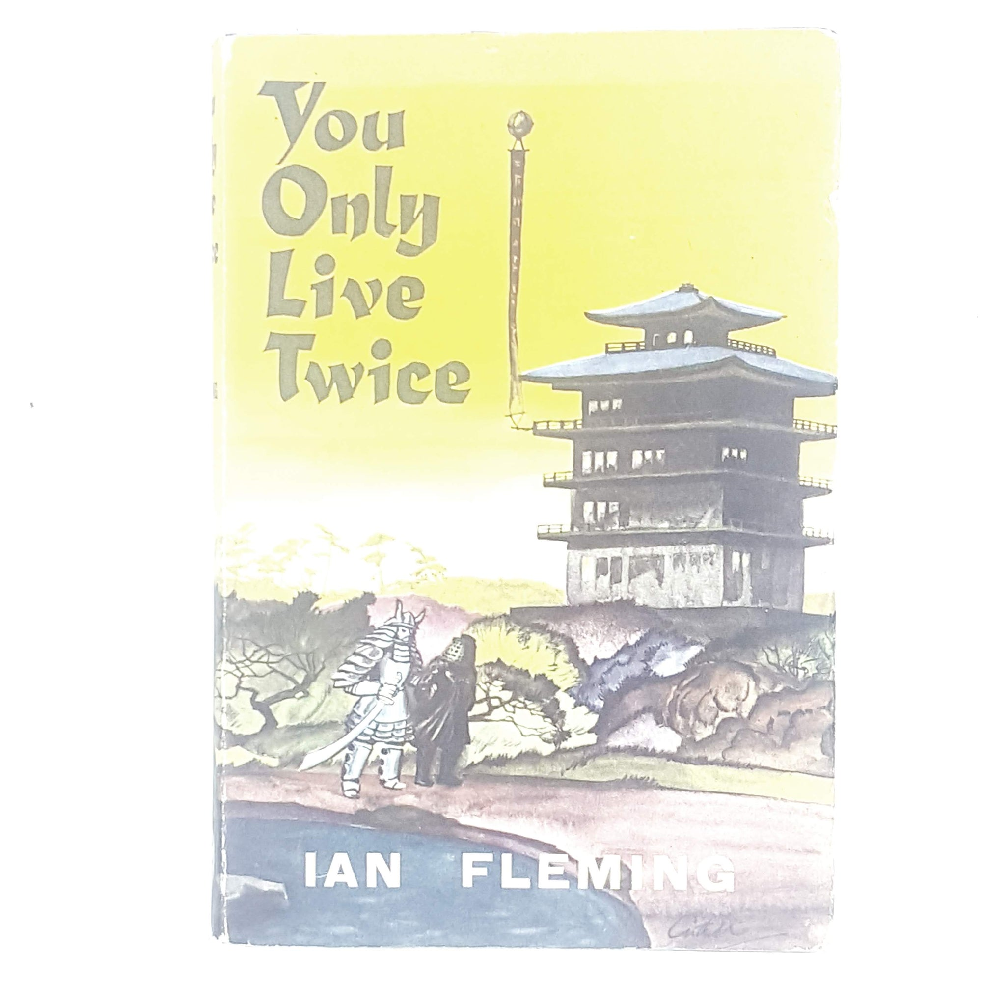 James Bond 007: You Only Live Twice by Ian Fleming - Book Club 1964