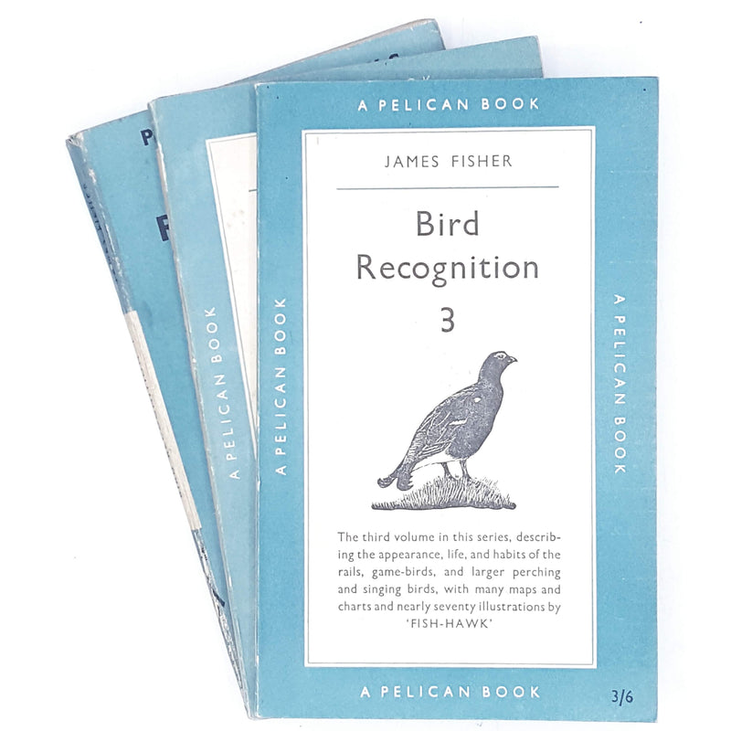 Bird Recognition Collection by James Fisher 1947 - 1955
