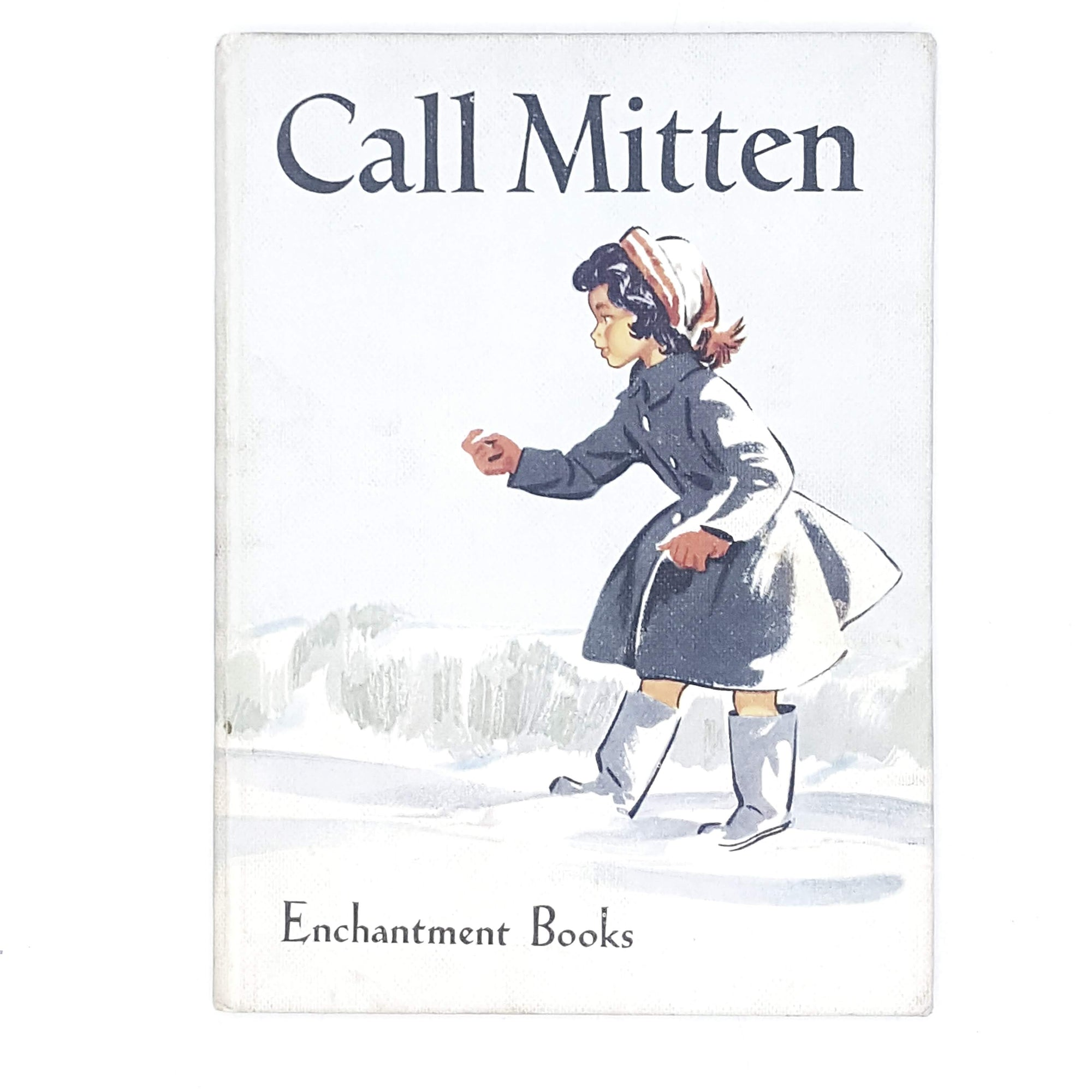 Vintage Children's Illustrated Call Mitten