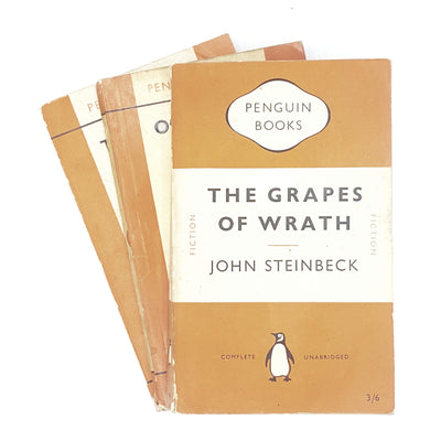 Collection John Steinbeck Vintage Penguin set 1957 - 1961