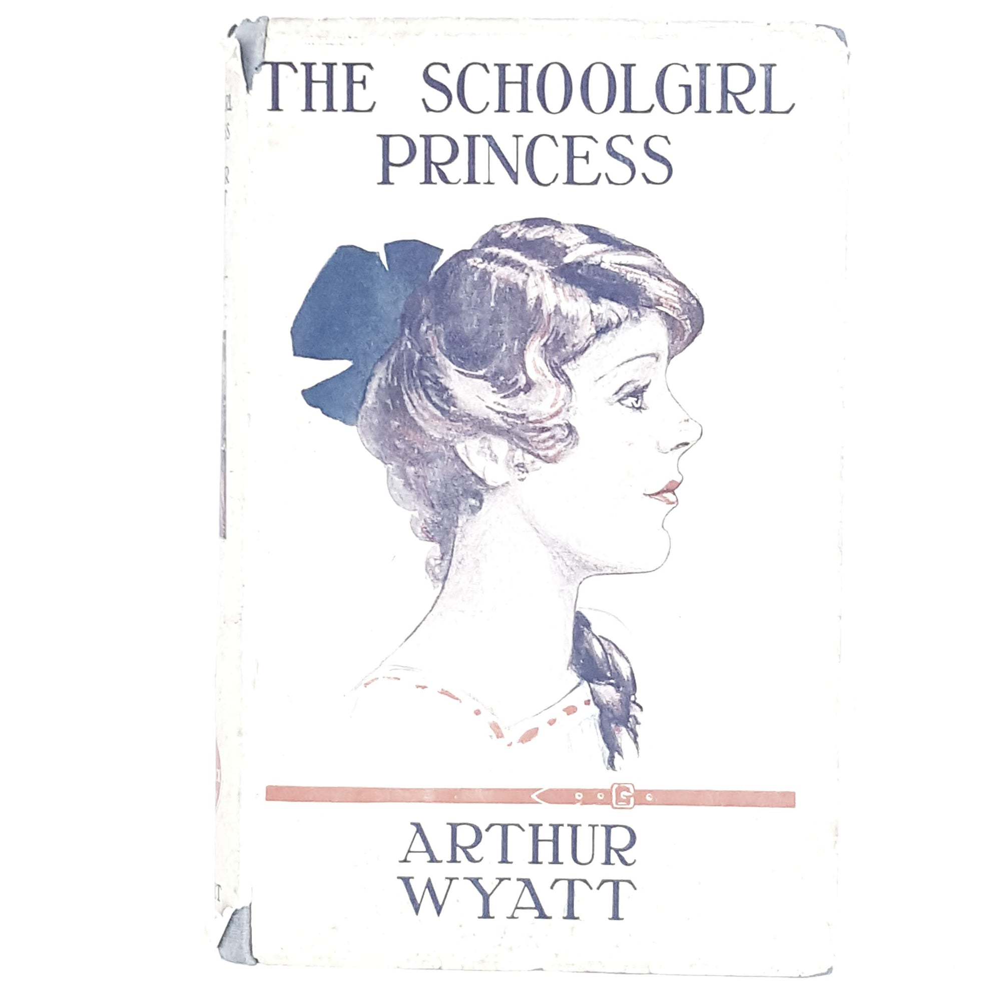 Vintage Cover: The Schoolgirl Princess by Arthur Wyatt