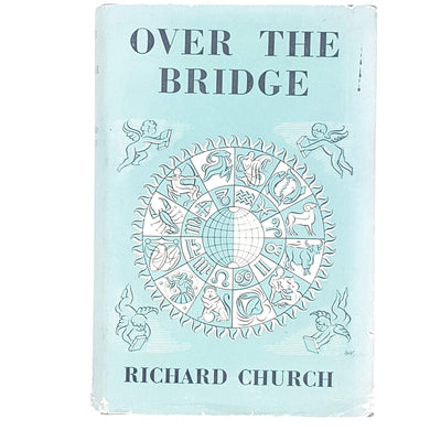 pale-blue-vintage-over-the-bridge-by-richard-church-country-house-library