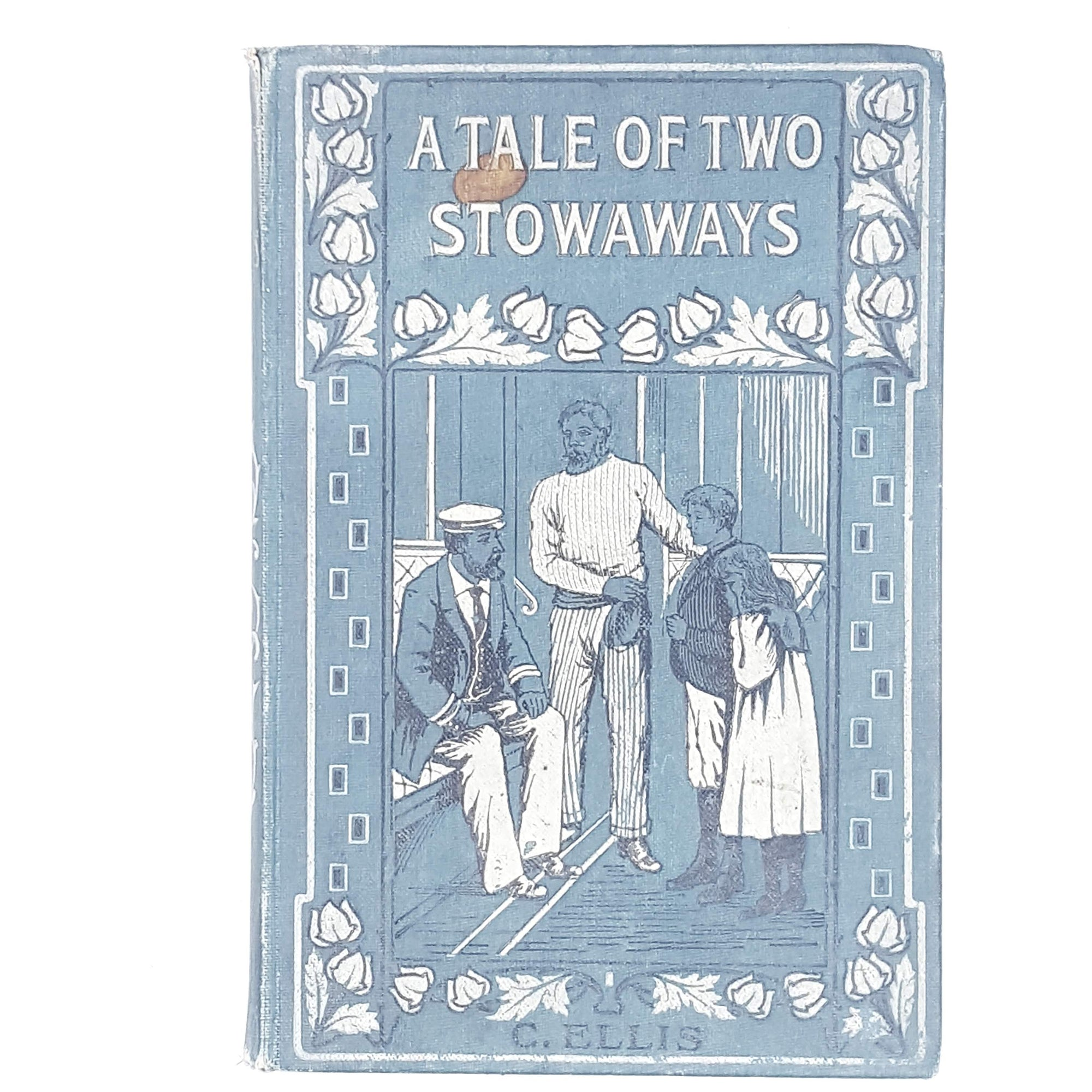 vintage-religion-blue-a-tale-of-two-stowaways-by-c-ellis-c1907-country-house-library