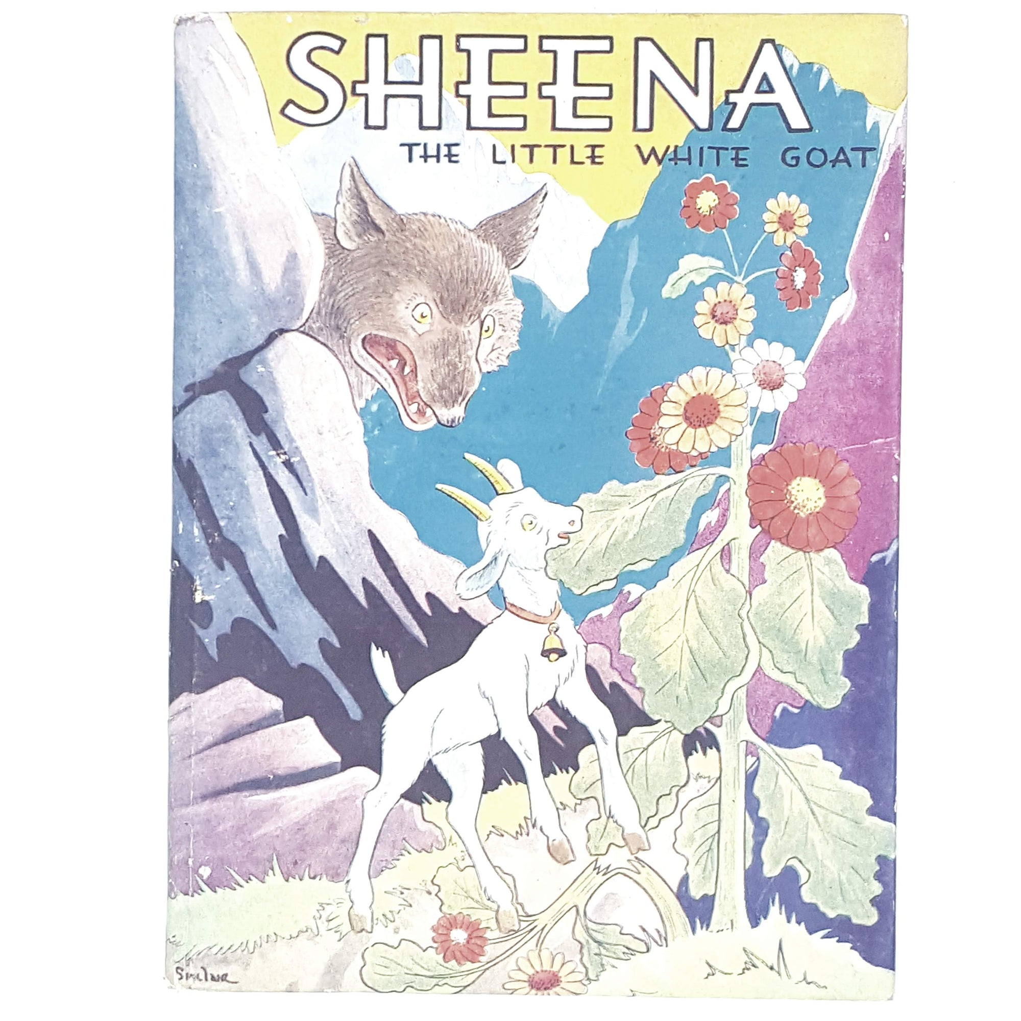 Sheena the Little White Goat by Patrick Sinclairr