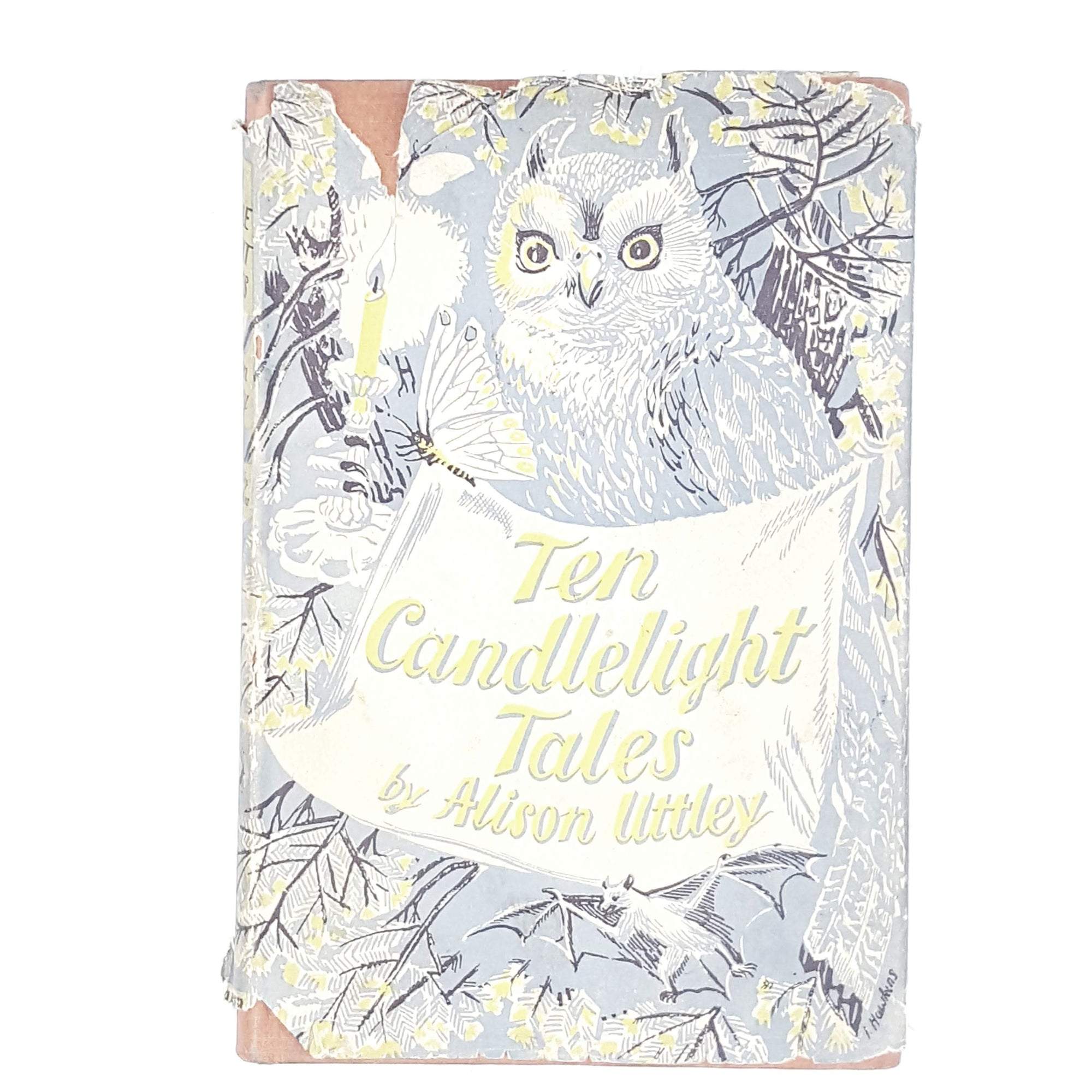 First Edition Ten Candelight Tales by Alison Littley 1942