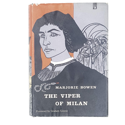 historical-fiction-the-viper-of-milan-by-marjorie-bowen-1960-country-house-library