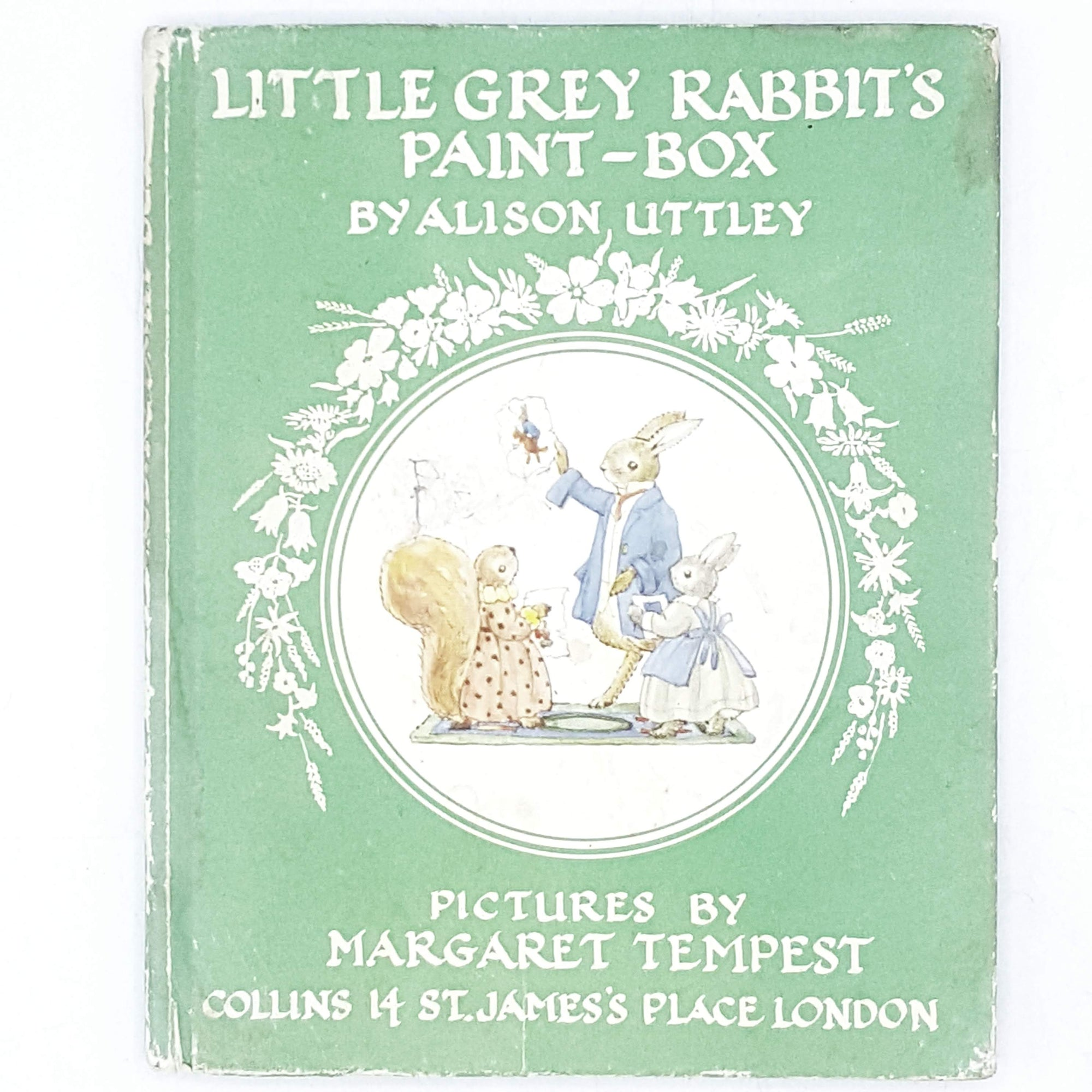 First Edition Little Grey Rabbit's Paint-Box by Alison Uttley 1958