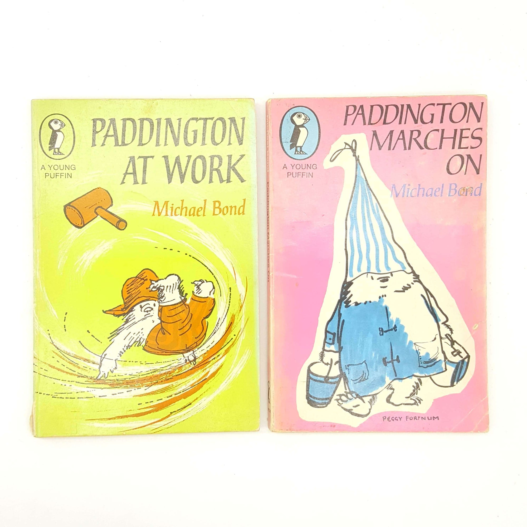 Paddington Bear Collection: Two Puffin Books 1960s