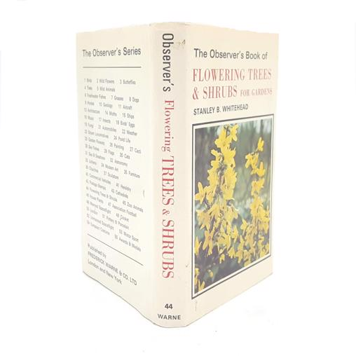 Observer's Book of Flowering Trees and Shrubs c.1972