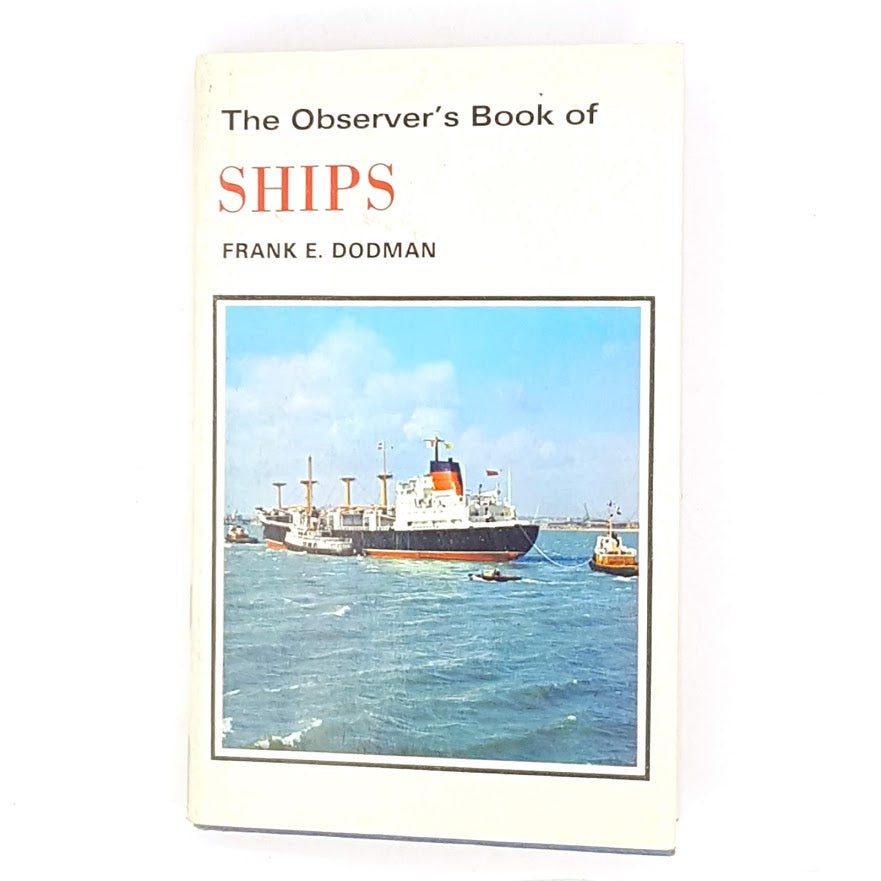 Observer's Book of Ships 1970