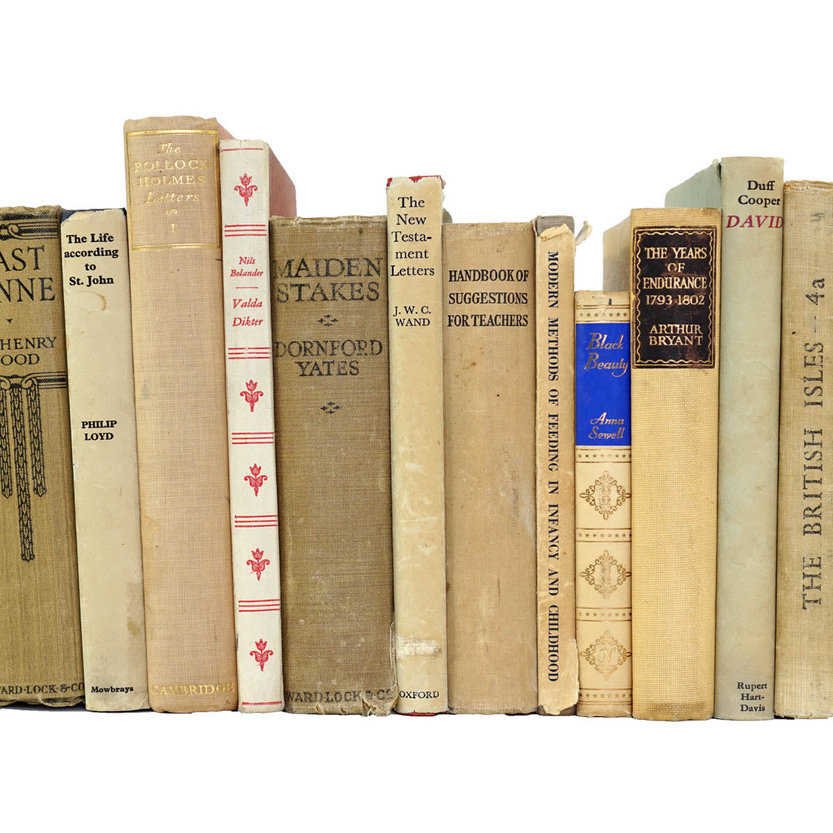 BOOKS BY THE METRE: Vintage Beige