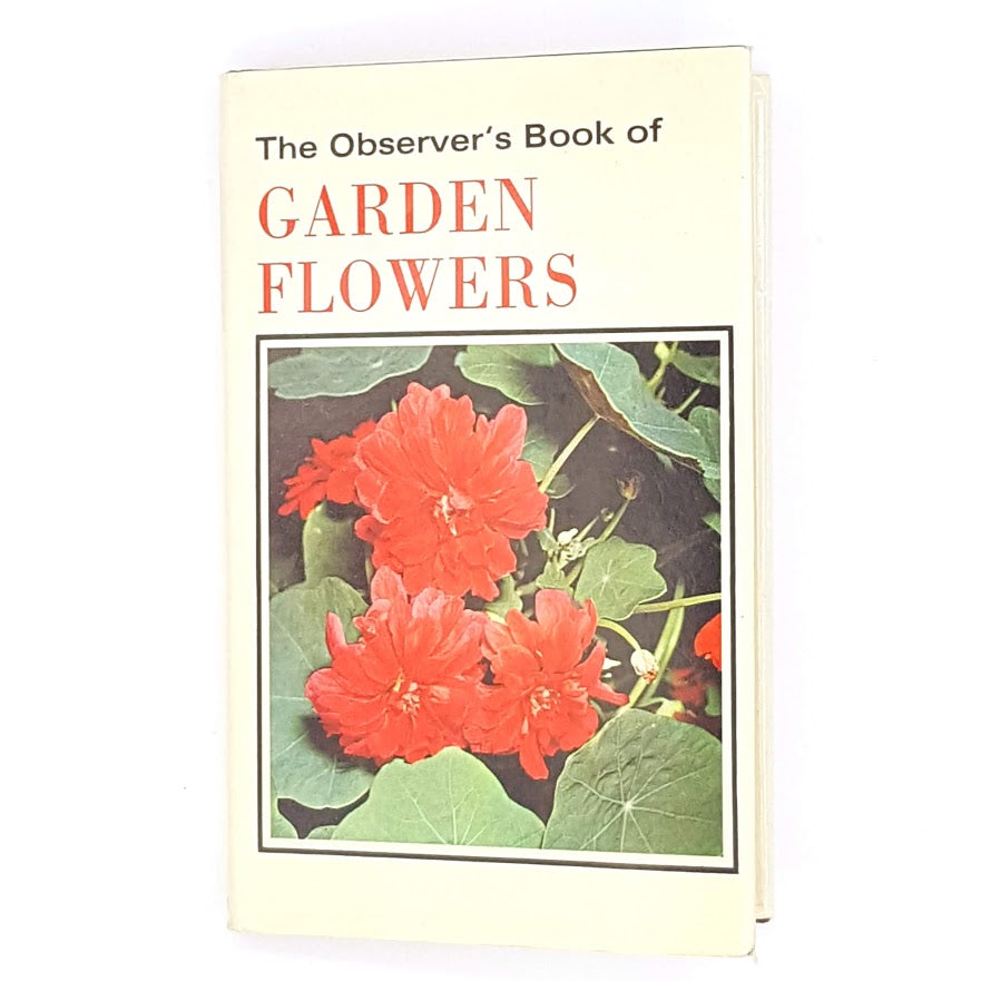 Observer's Book of Garden Flowers 1974