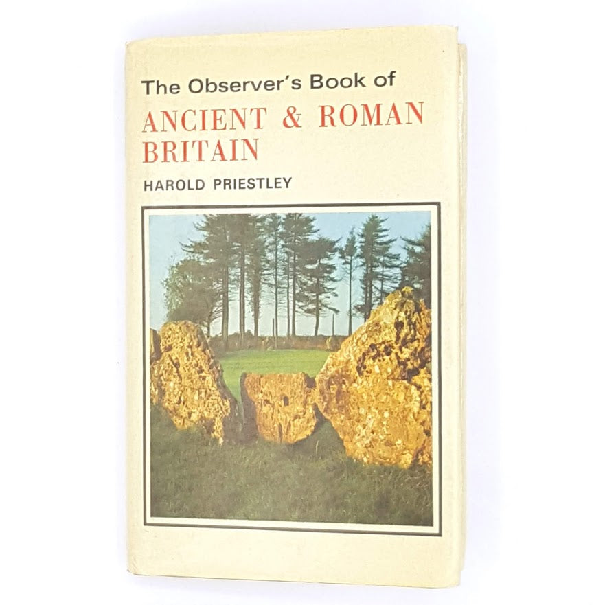 First Edition Observer's Book of Ancient & Roman Britain 1976