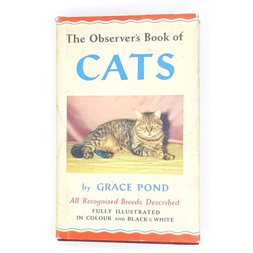 patterned-1968-grace-pond-cats-classic-country-house-library-hardcover-antique-vintage-old-books-decorative-thrift-observer-