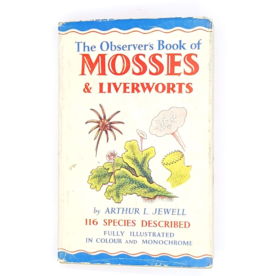 Observer's Book of Mosses & Liverworts 1955