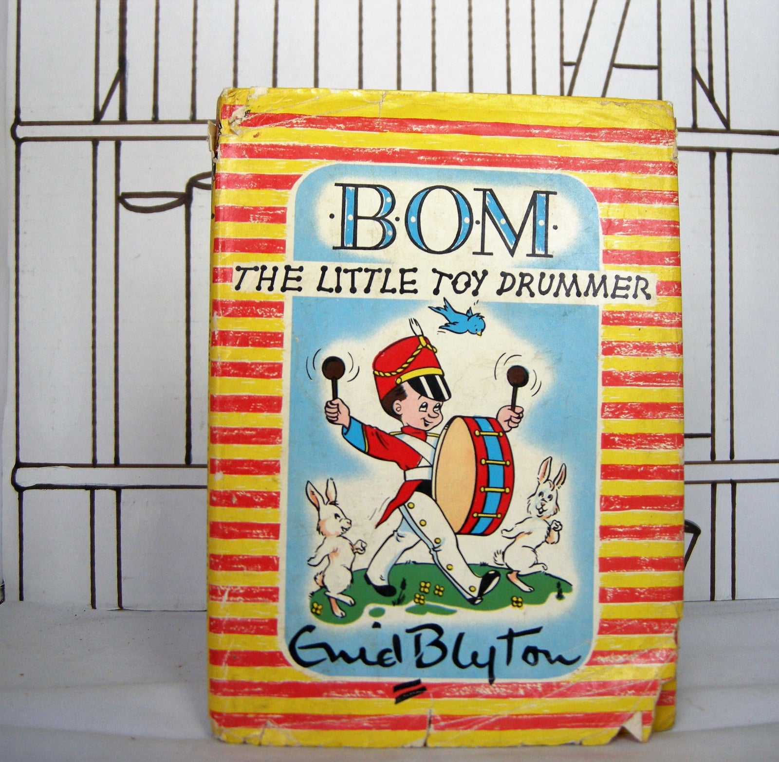 Bom the Little Toy Drummer by Enid Blyton (Vintage, Children, Christmas) - Bluebell Abbey