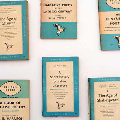 Collection of Vintage Pelicans (Literature and Poetry) - Bluebell Abbey