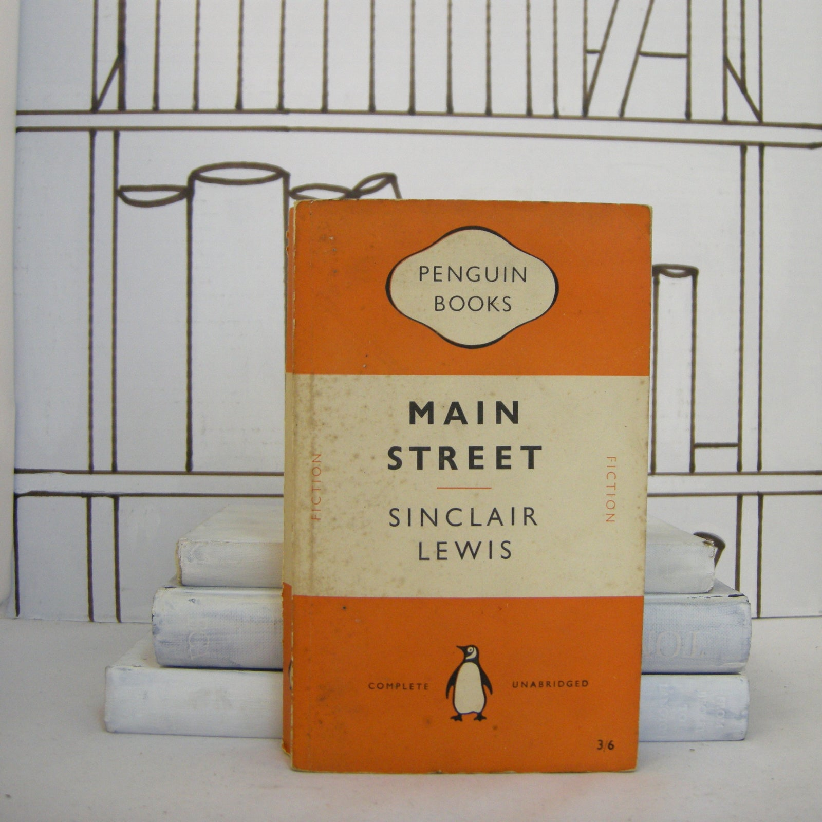 Book - Main Street By Sinclair Lewis (Vintage, Penguin)