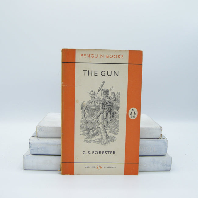 Book - The Gun By C. S. Forester (Vintage, Penguin, War)