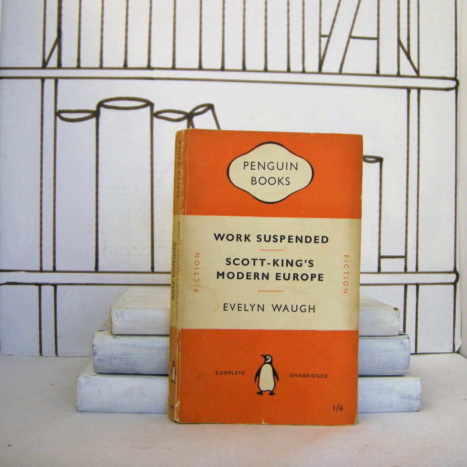 Book - Work Suspended & Scott-King's Modern Europe By Evelyn Waugh (Vintage, Penguin)
