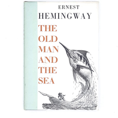 Ernest Hemingway's The Old Man and the Sea, illustrated 1971