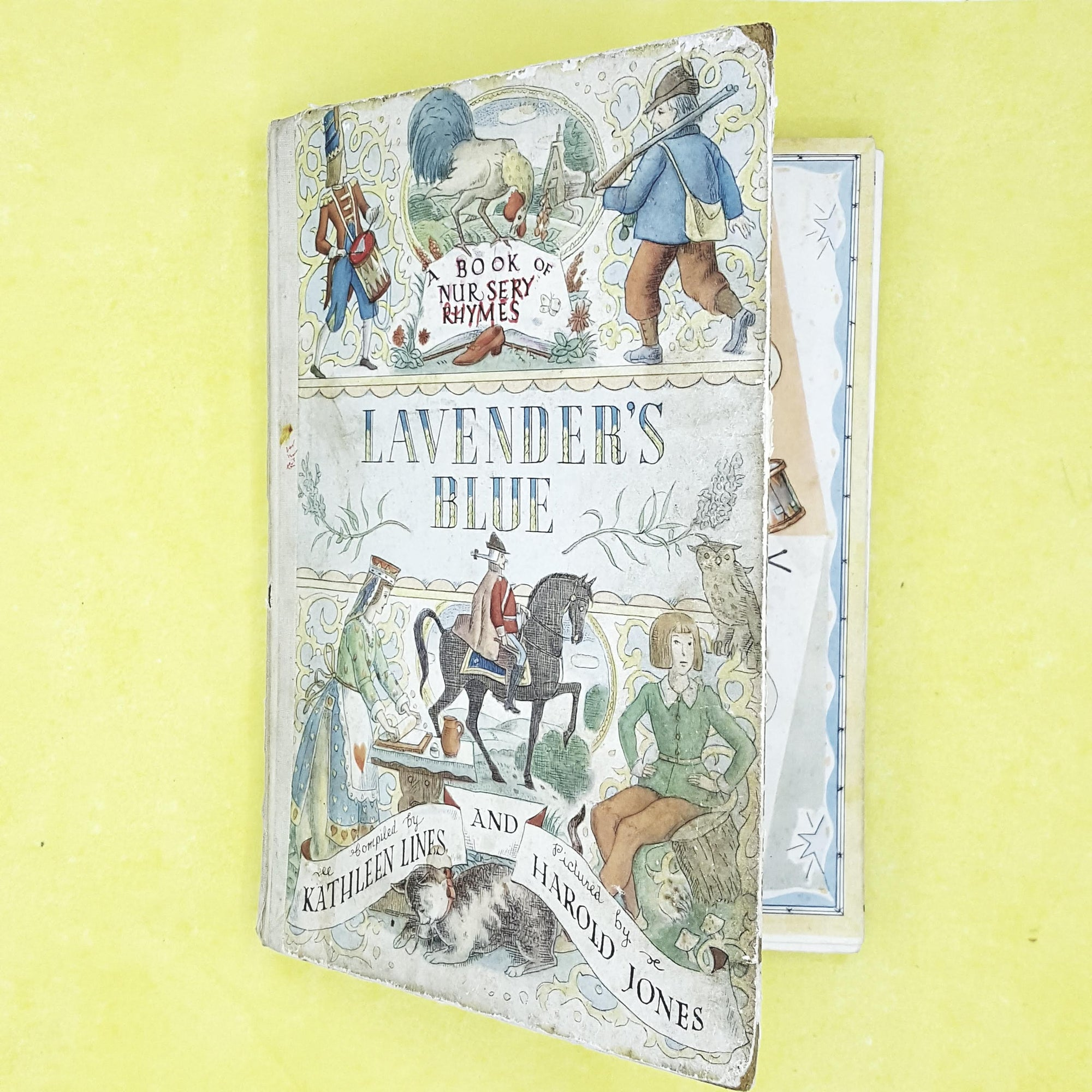 Second Edition: Lavender's Blue - A Book of Nursery Rhymes 1956