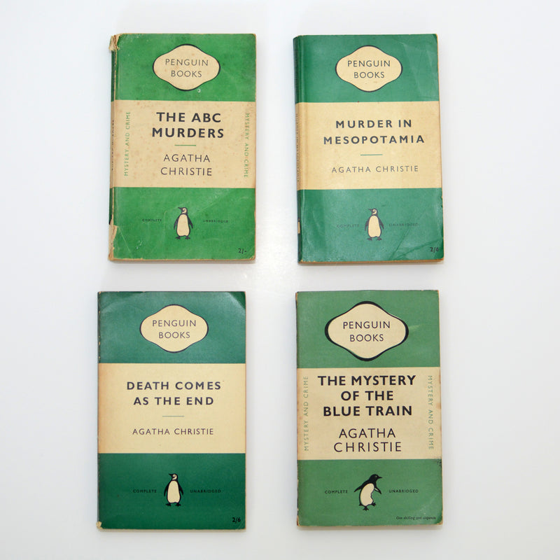 Agatha Christie Collection (Vintage, Penguin, Crime) - Bluebell Abbey