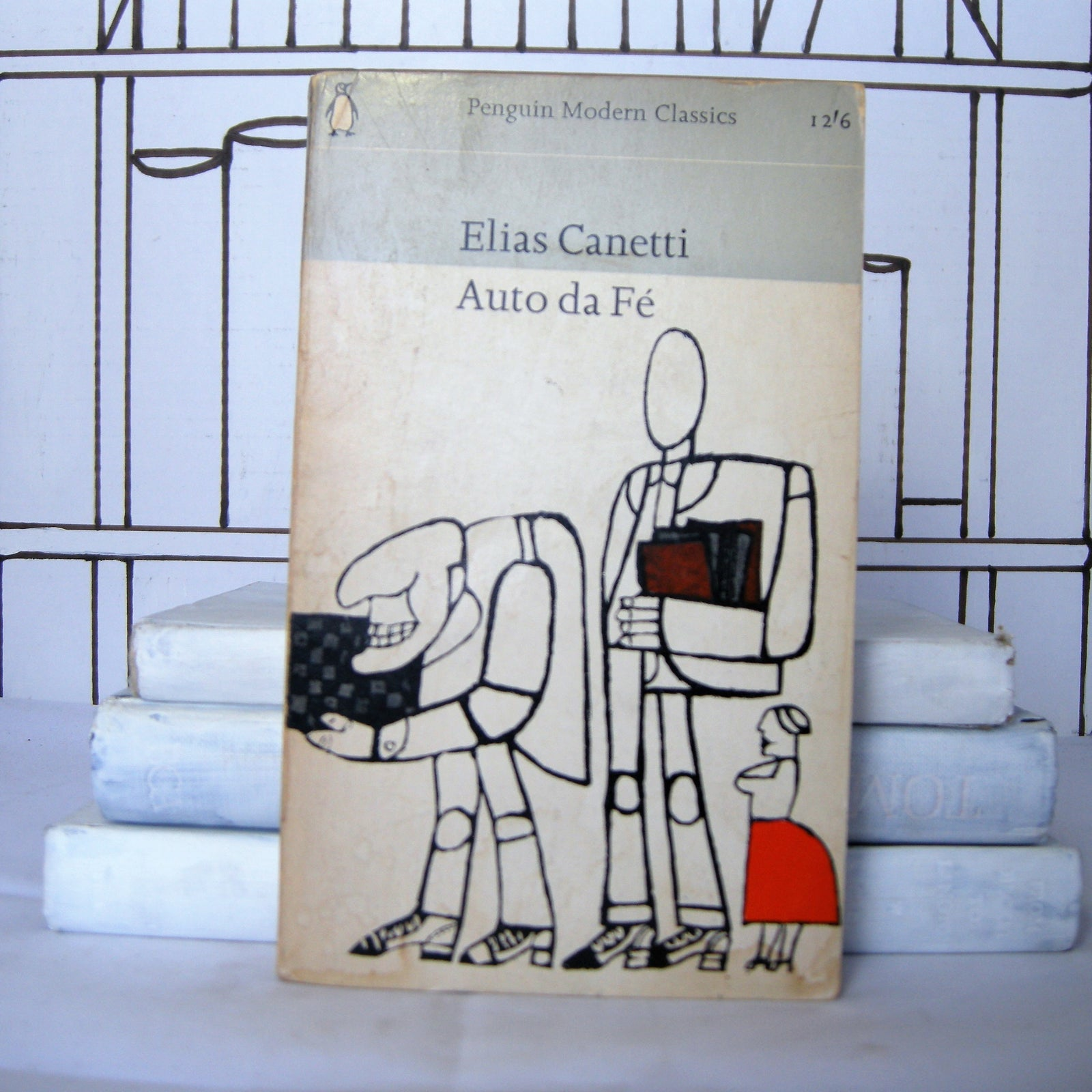 Auto da Fé by Elias Canetti (Vintage, Penguin) - Bluebell Abbey