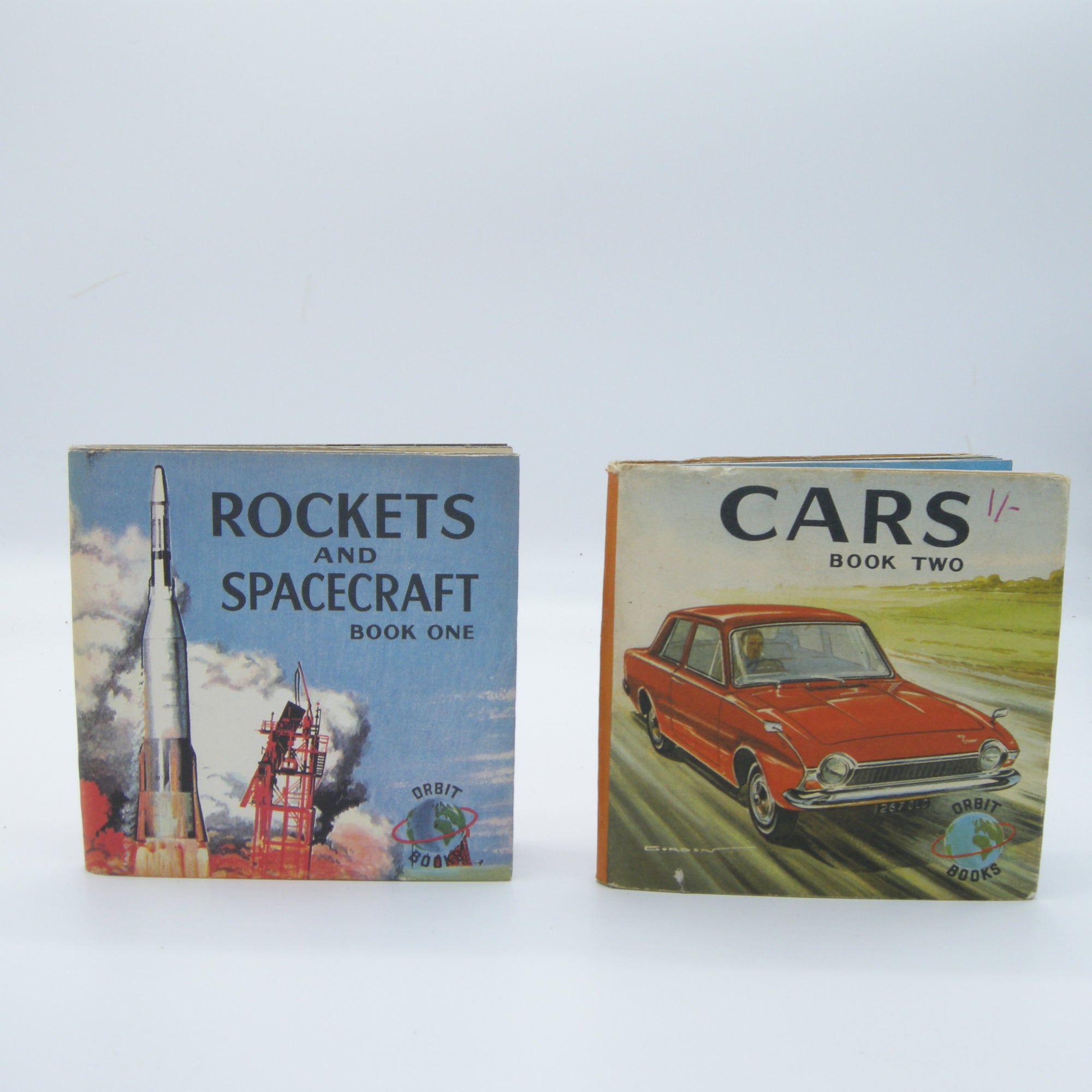 Vintage Orbit Books Collection: Cars and Rockets