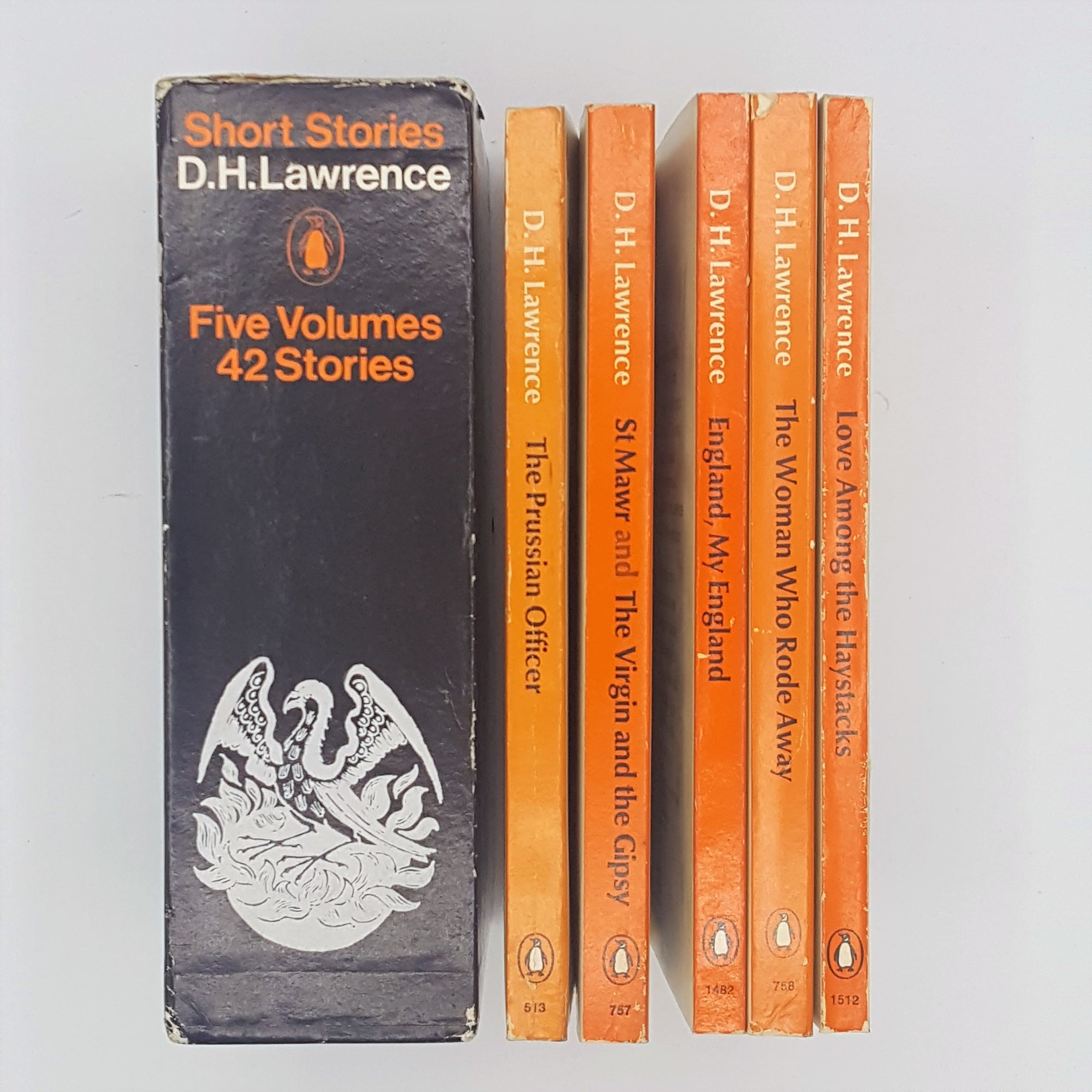 Short Stories Collection by D. H. Lawrence - Five Book Box Set 1968