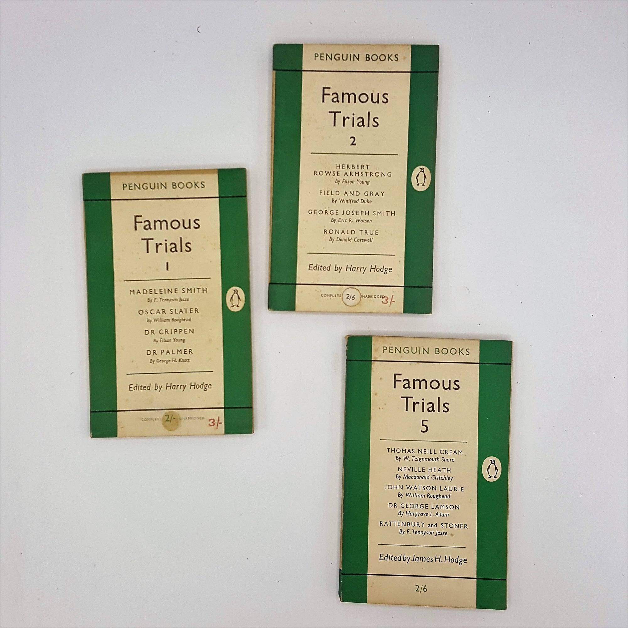 Famous Trials Collection 1954 - 1955