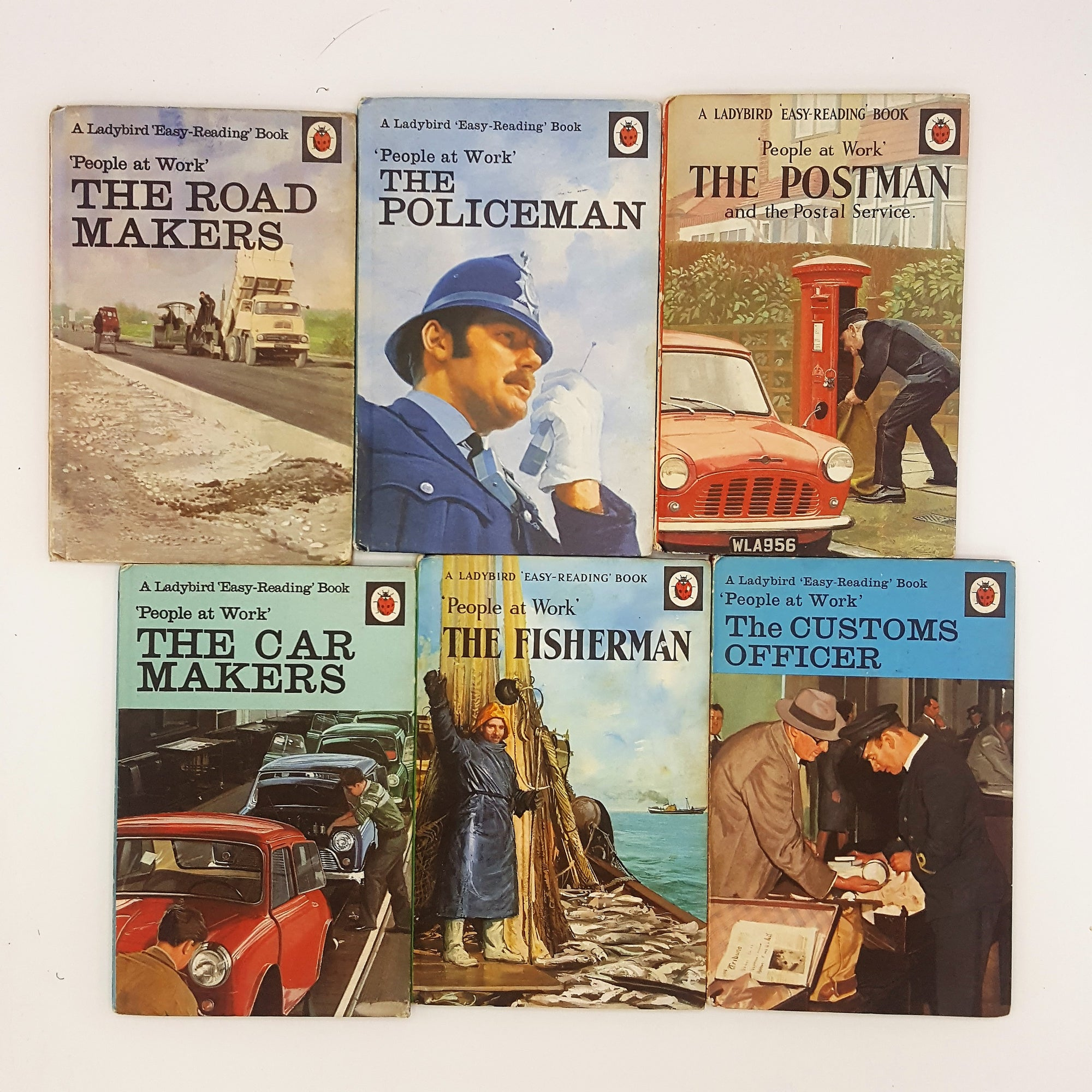 Ladybird People at Work Collection 1 1962 - 1972