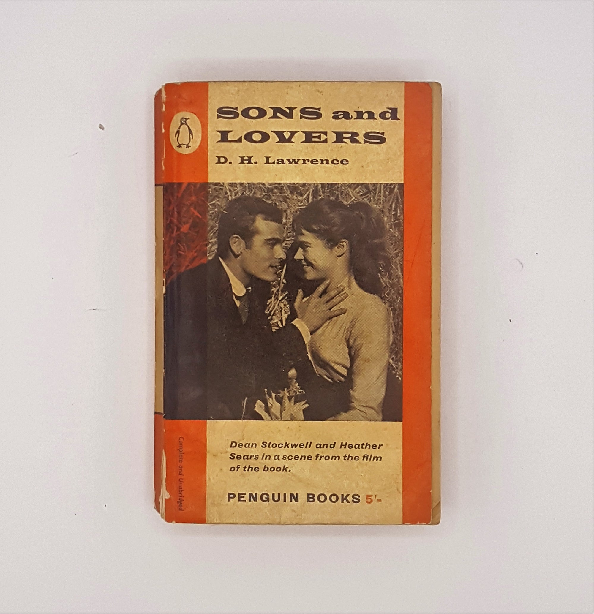 Sons & Lovers by D.H. Lawrence 1960
