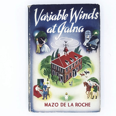 Mazo de la Roche Variable Winds at Jalna 1951