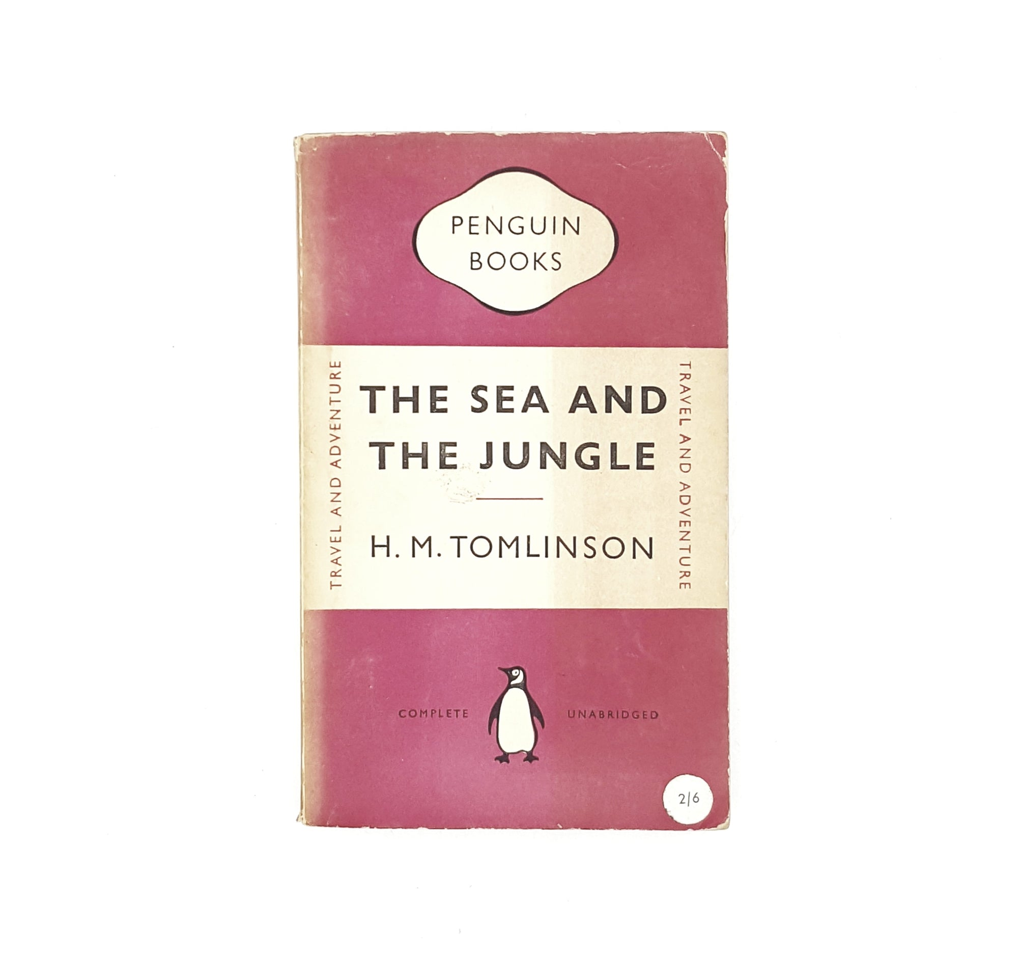 The Sea and the Jungle by H.M. Tomlinson 1953