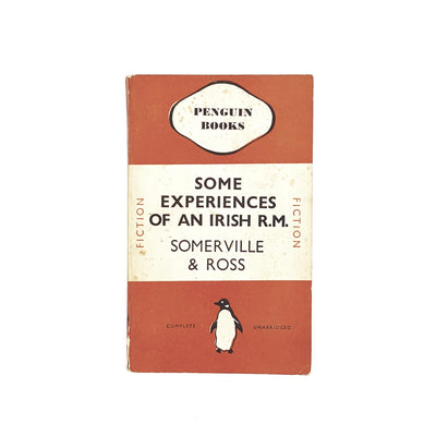 Some Experiences of an Irish R.M by Somerville & Ross 1937