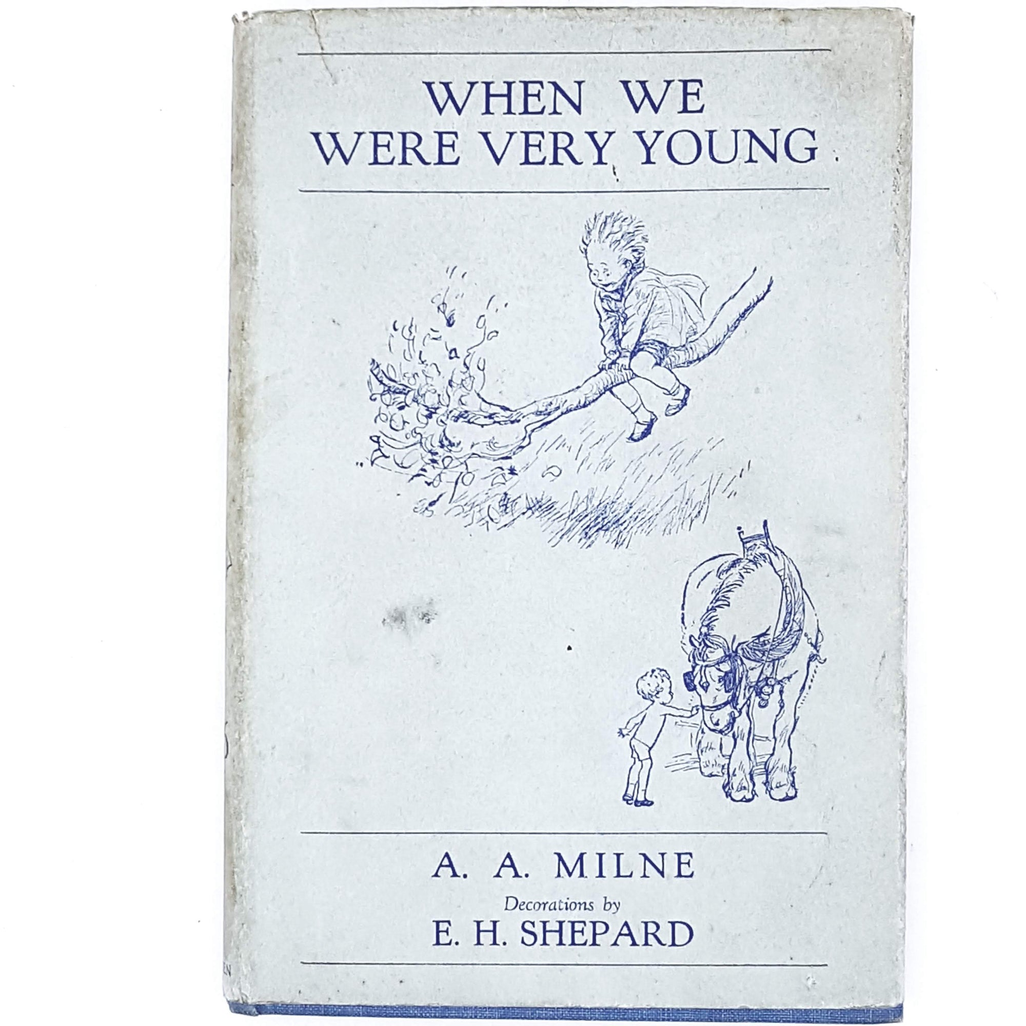 Illustrated When We Were Very Young by A. A. Milne 1936