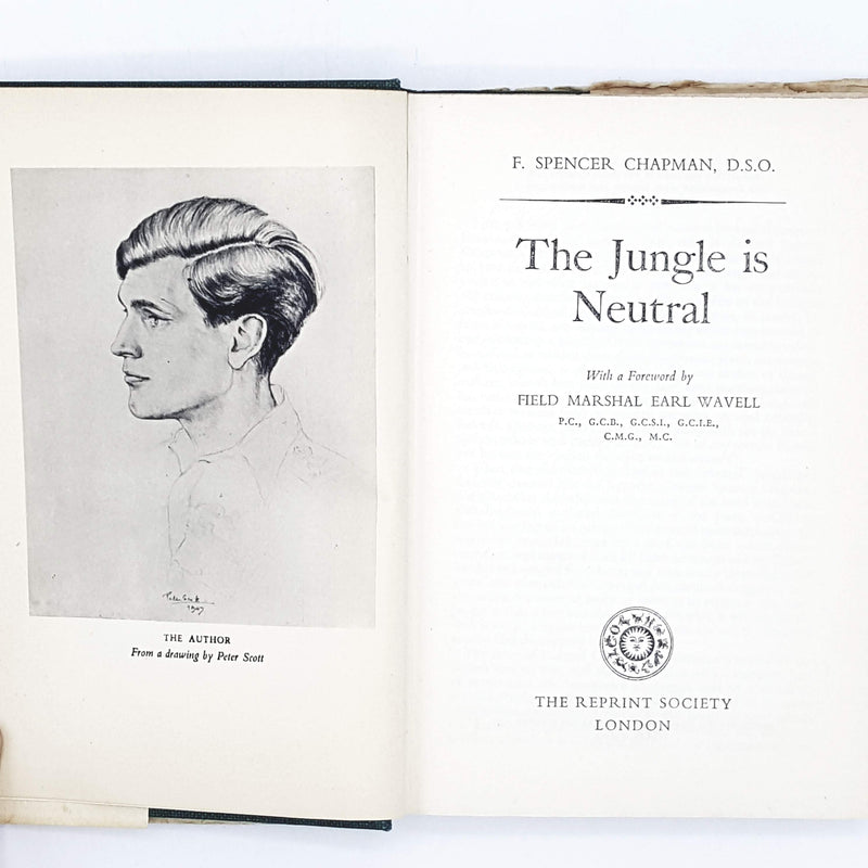 The Illustrated Jungle is Neutral by F. Spencer Chapman 1950