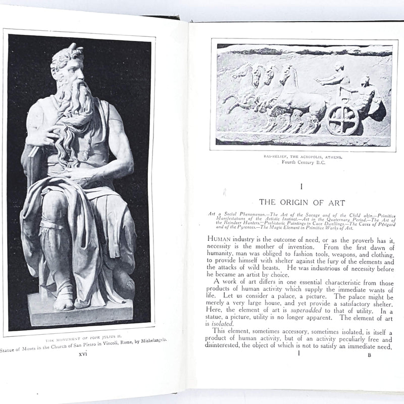 An Illustrated Manual of The History of Art Through the Ages by S. Reinach 1923
