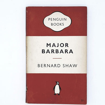 Major Barbara by Bernard Shaw 1954