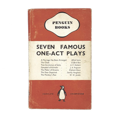 Seven Famous One-Act Plays 1950