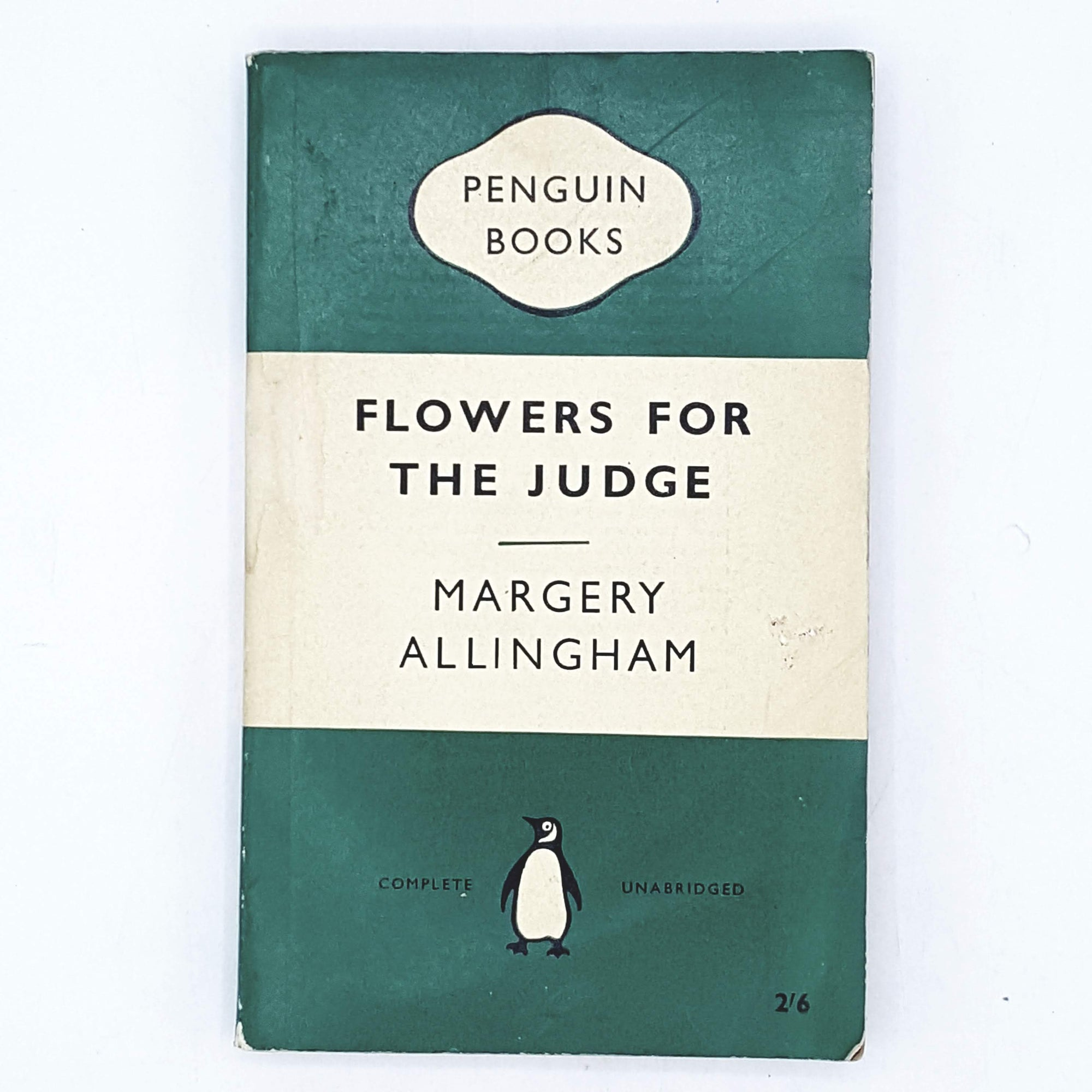 Flowers for the Judge by Margery Allingham 1959