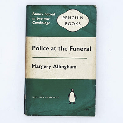 Police at the Funeral by Margery Allingham 1961