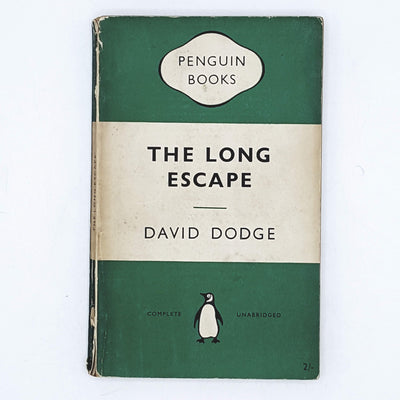 The Long Escape by David Dodge 1954