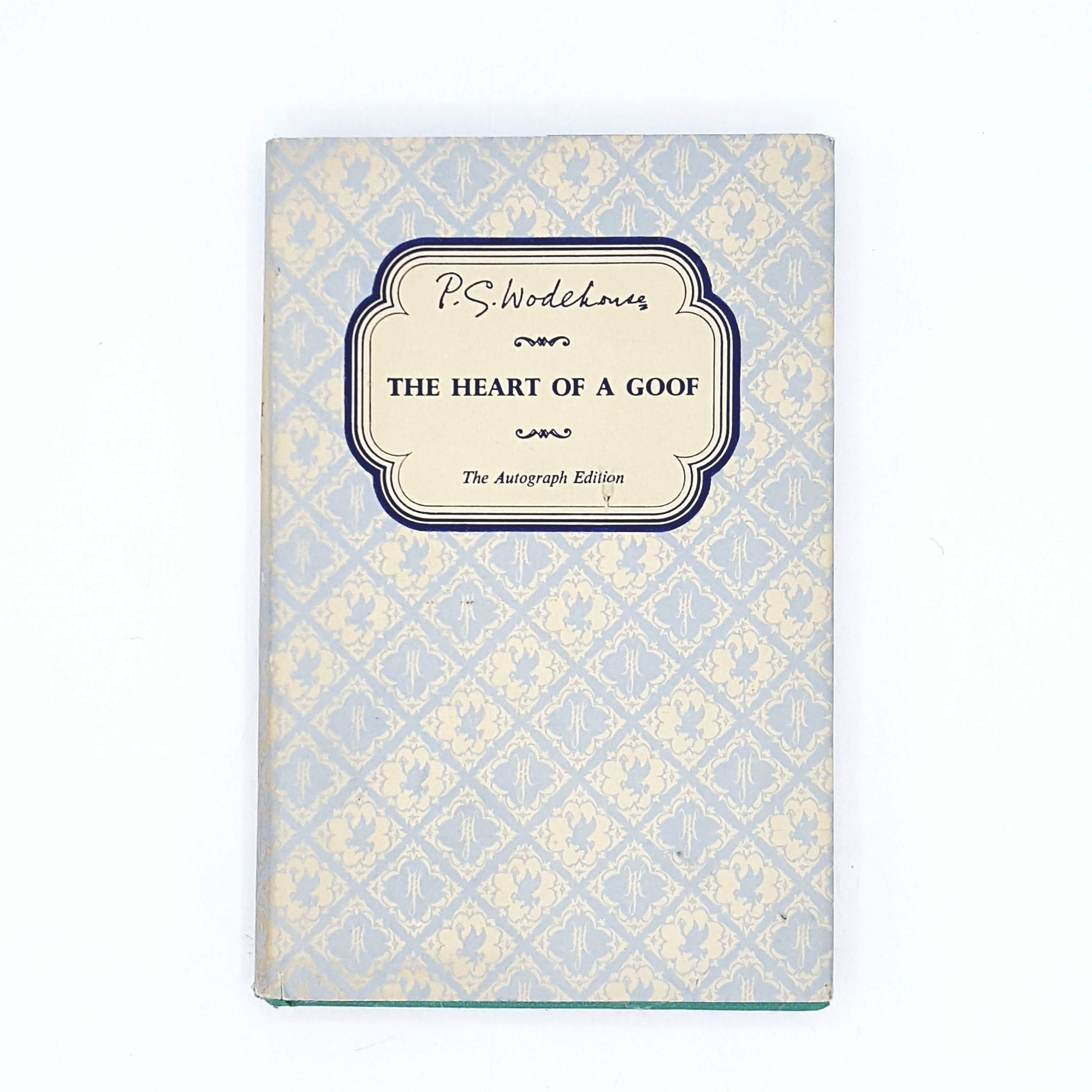 P. G. Wodehouse's The Heart of a Goof 1956