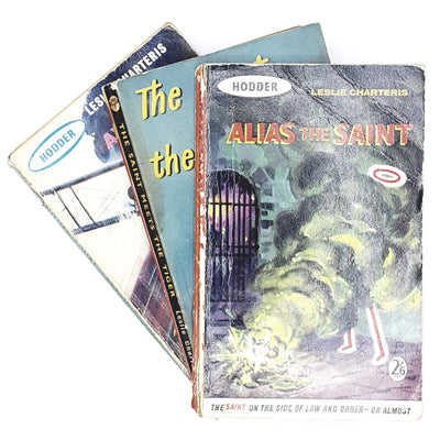 Collection 3 books by Leslie Charteris