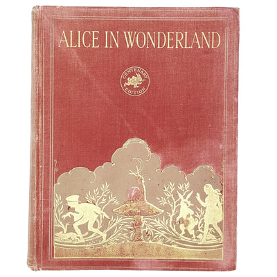 Illustrated Lewis Carroll's Alice's Adventures in Wonderland Hodder and Stoughton ltd